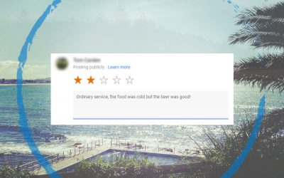 Why You Shouldn't Worry about Receiving Negative Reviews